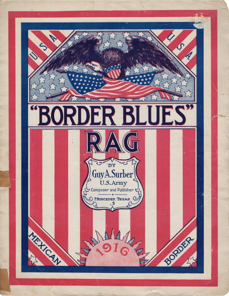 Border Blues Rag front page